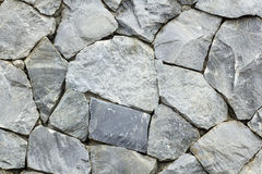 Pattern gray color of modern style design stone wall Stock Photo