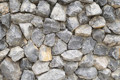 Free Pattern Gray Color Of Modern Style Design Stacked Stone Wall Background, Real Stone Wall Surface With Cement Stock Photo - 62622550