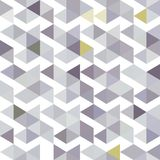 Pattern of gray triangles with a lilac shade. A seamless pattern of gray triangles with a lilac shade Royalty Free Stock Image