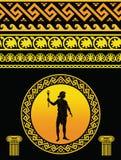 Pattern Greek stock illustration