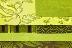 Pattern green Royalty Free Stock Photography
