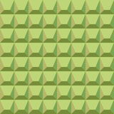 Pattern of green blocks Royalty Free Stock Photography