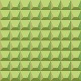 Pattern of green blocks. Seamless geometrical pattern of green blocks Royalty Free Stock Photography