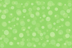 pattern with green circles Royalty Free Stock Photos