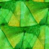 Pattern green design seamless watercolor texture Royalty Free Stock Photos