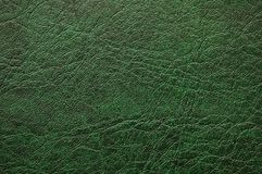 Pattern of green leather - can. Pattern of green  leather - can be used as background Royalty Free Stock Photos