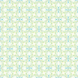 Pattern of green leaves or hearts on white background Royalty Free Stock Photo