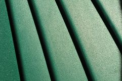 Pattern of green plastics Stock Photos
