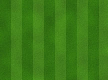Pattern green soccer field Stock Images