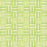 Pattern with green squares and decorations interlocking relief effect Royalty Free Stock Photography