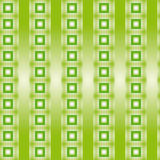 Pattern with green squares and vertical stripes shades Royalty Free Stock Images