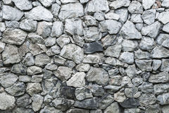 pattern grey and black stone rock wall of modern style design, f Stock Photo