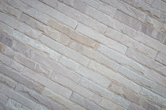 Pattern grey sandstone wall background and texture Stock Photography
