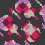 Pattern guitar  Royalty Free Stock Photo