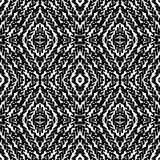 Pattern with hand painted lines Royalty Free Stock Photos