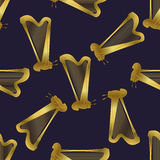pattern with harp. Stock Images