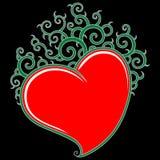 Pattern heart Stock Photos