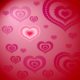 Pattern from a hearts Stock Photo