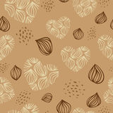 Pattern with hearts. Vector seamless pattern with hearts Royalty Free Stock Image