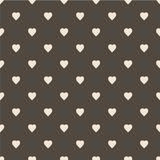 Pattern with hearts. Flat Scandinavian style for print on fabric, gift wrap, web backgrounds Royalty Free Stock Photos