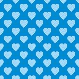 Pattern with hearts. Flat Scandinavian style for print on fabric, gift wrap, web backgrounds, scrap booking, patchwork. Vector illustration Seamless background vector illustration