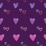 Pattern from hearts Stock Photo