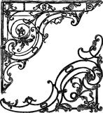 Pattern of heraldic symbols Stock Photos