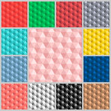 Pattern Hexagon colorful Stock Photos