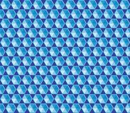 Pattern of hexagons Stock Photos