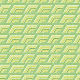 The pattern of hexagons Stock Photography