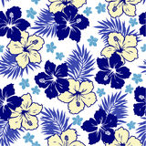 Pattern of the Hibiscus Stock Photography