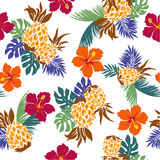 Pattern of the Hibiscus Stock Photos