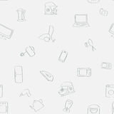 Pattern of the  home appliances Royalty Free Stock Photography