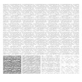 Pattern of horizontal hatching grunge texture Royalty Free Stock Photos