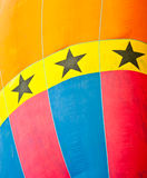 Pattern of hot air balloon Stock Photography