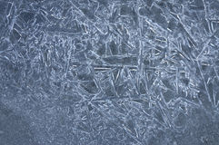 Pattern in ice Stock Photos