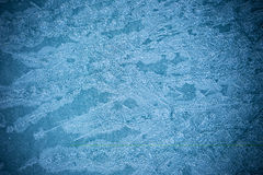 Pattern of the ice surface. Stock Images