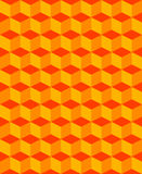Pattern illusion Royalty Free Stock Image
