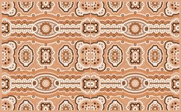 Pattern. A illustration based on aboriginal style of dot painting depicting pattern vector illustration