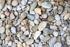 Pattern image of pretty colourful pebbles Royalty Free Stock Image
