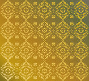 Pattern from indian elements Stock Photography