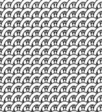 A pattern of interwoven stripes Royalty Free Stock Photos