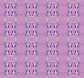 Pattern with iris seamless texture Royalty Free Stock Photos