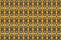Pattern iron flower close Royalty Free Stock Image