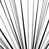 Pattern of irregular, random lines. Black and white abstract tex Stock Image