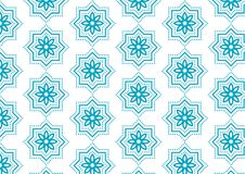 Pattern islamic abstract background banner royalty free illustration