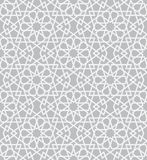 Pattern in islamic style. Background with seamless pattern in islamic style Royalty Free Stock Photography