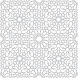 Pattern in islamic style. Background with seamless pattern in islamic style Royalty Free Stock Images