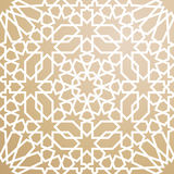 Pattern in islamic style. Background with seamless pattern in islamic style Stock Photo