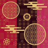 Pattern476 japonais illustration de vecteur
